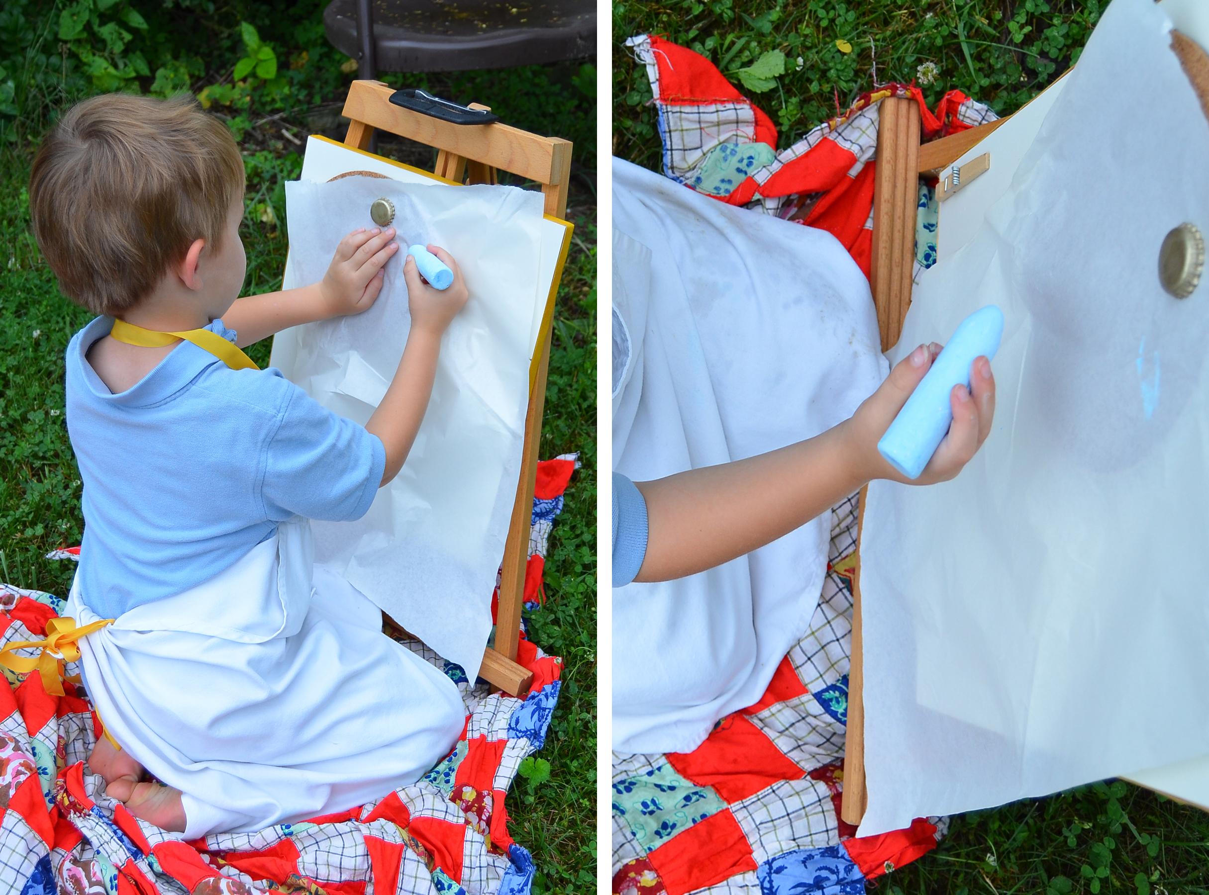 Kids Storage Ideas for Art Supplies