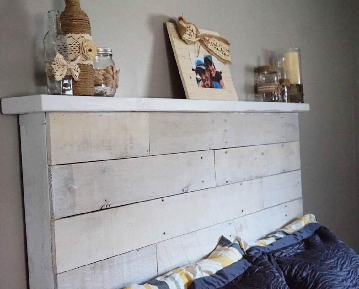 How to make your own diy pallet headboard How to make your own headboard