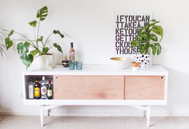 Vintage Sideboard Furniture Makeover
