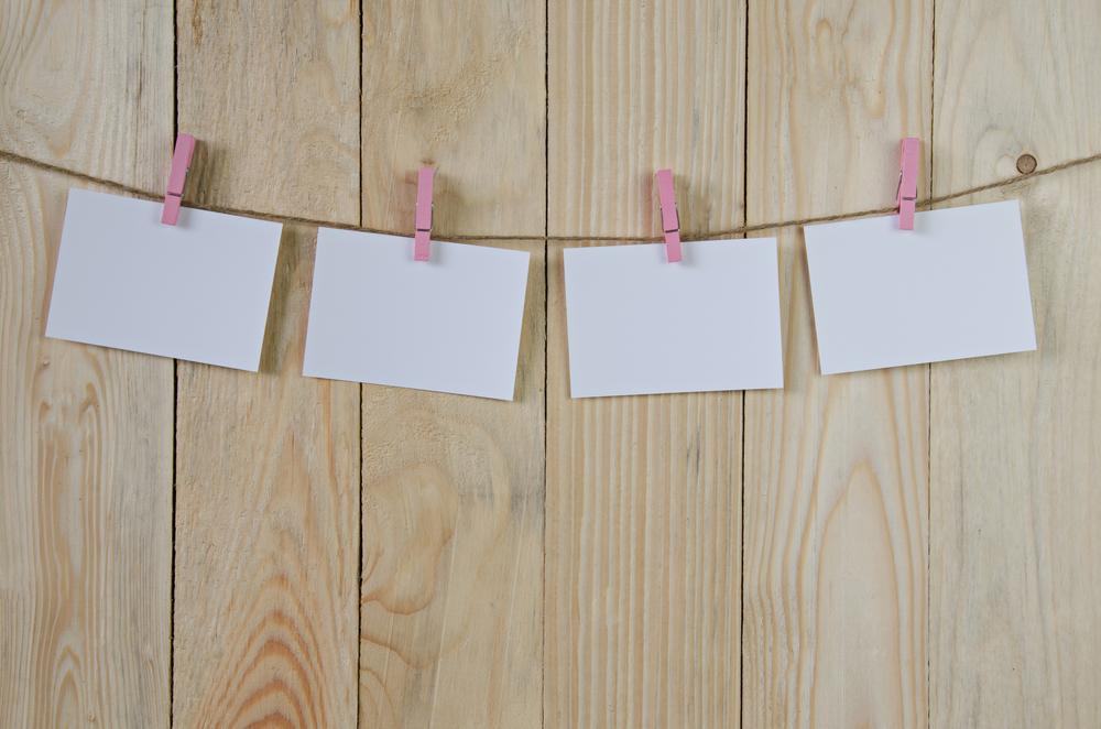 Last Minute Bridal Shower Decoration Ideas Clothespin Photos