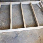 pallet headboard basic frame