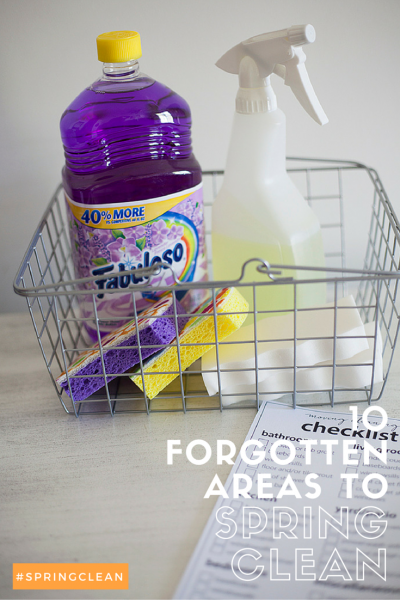 Don't forget these 10 areas on your spring cleaning list!
