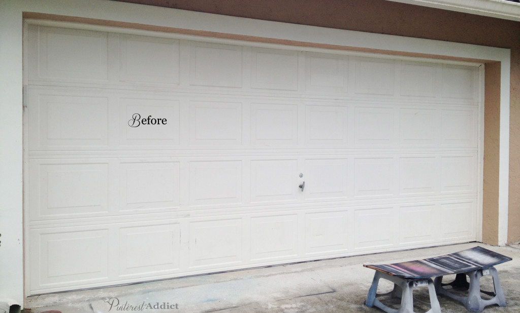 how to add curb appeal: garage door decor