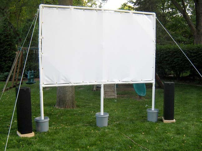 DIY Movie Screen Project