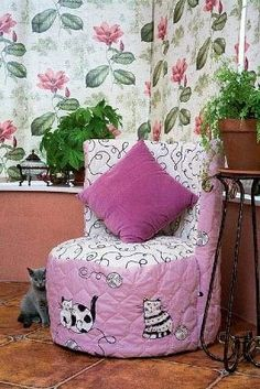 Reuse Old Tires: Kids Chair