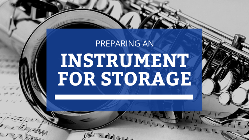 Preparing an Instrument for Storage