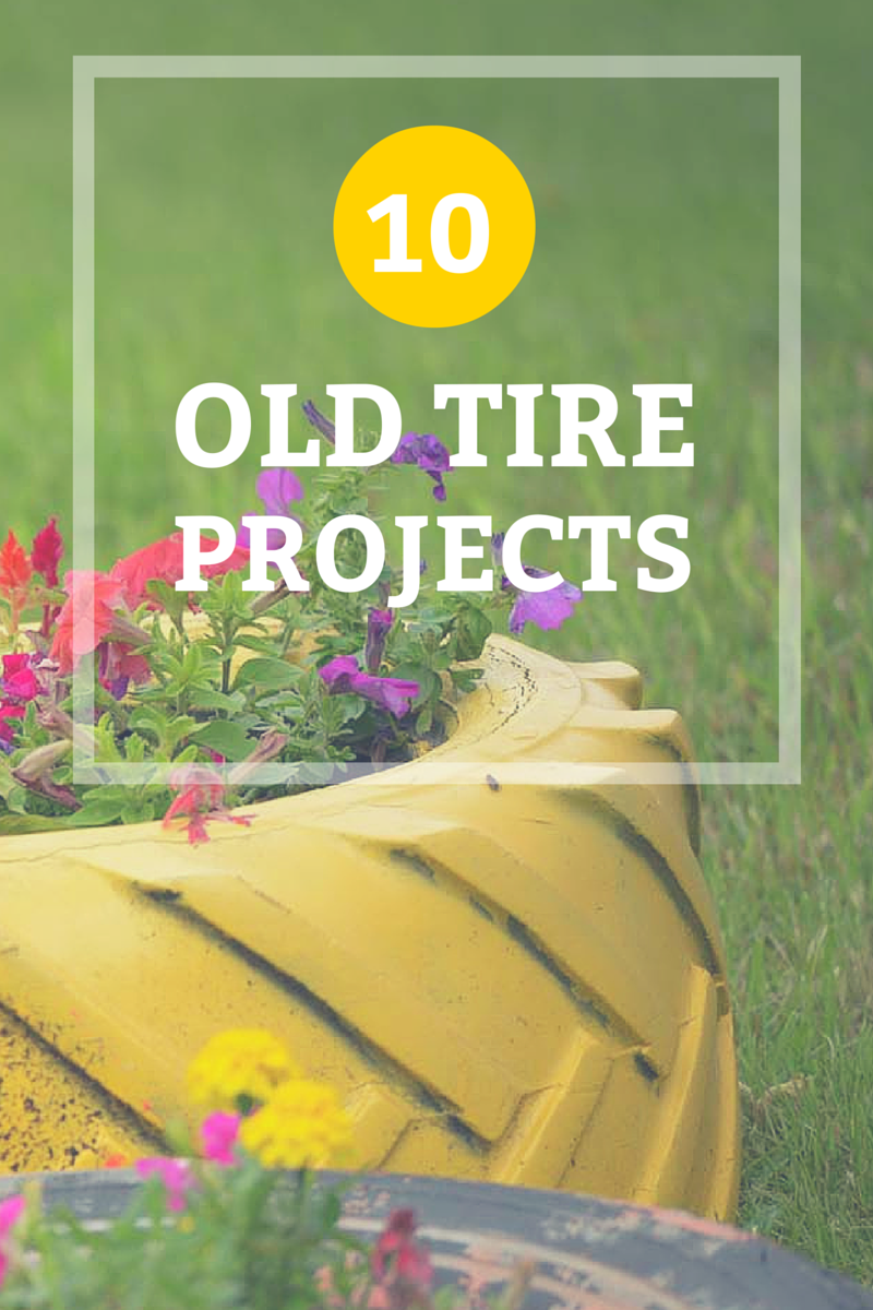 How to reuse old tires and turn them into something new for What can old tires be used for