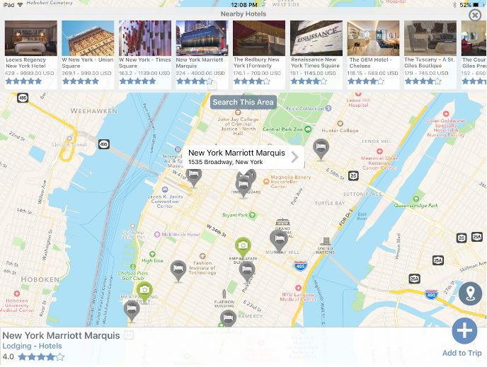 Tripsee travel app: find recommendations