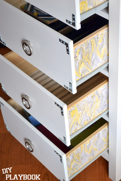 wallpaper projects: drawers