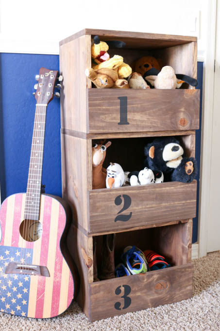 Diy Toy Box Ideas: Stackable Storage Cubes