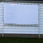 How to Make an Outdoor Movie Theater for $50 Using PVC Pipe