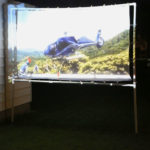 Learn how to make an outdoor movie screen.