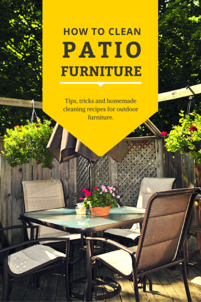 How To Clean Patio Furniture Part 64