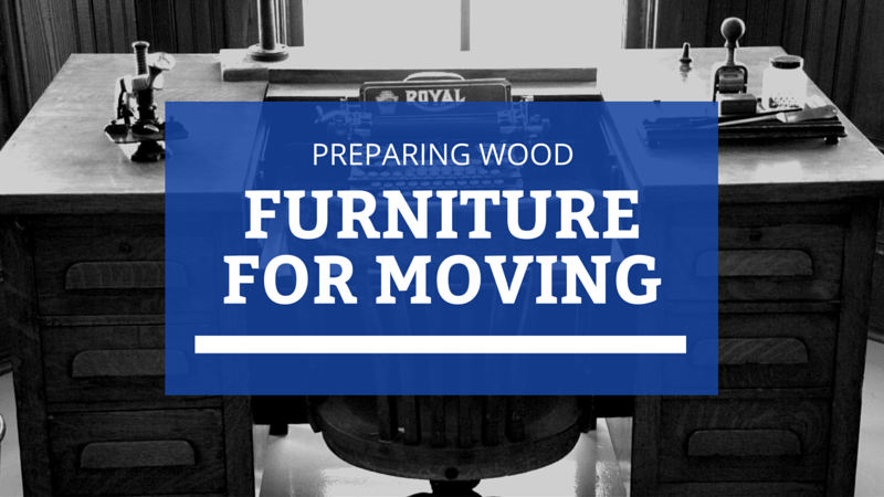 How to Move Heavy Wood Furniture