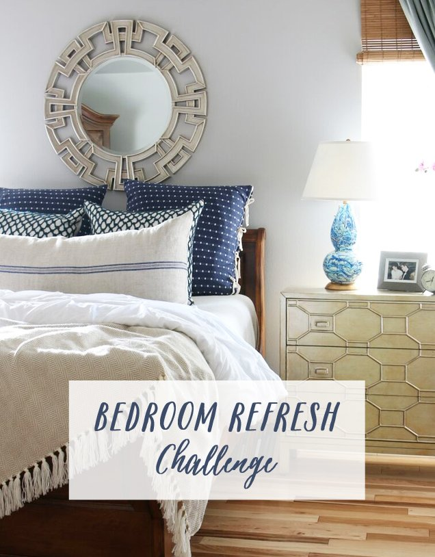 Spruce up your bedroom with this refresh challenge from The Inspired Room