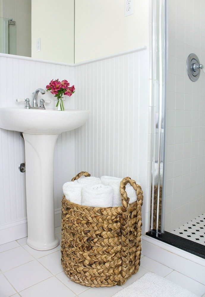 Baskets for Towel Storage