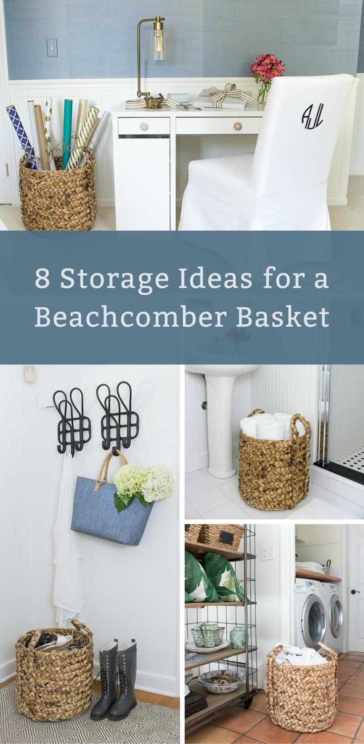 Storage Ideas for Beachcomber Baskets