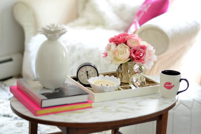 Coffee Table Decorating Ideas: Varying Heights