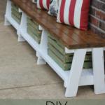 How to Make a Farmhouse Outdoor Bench