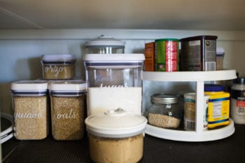 How to Organize Your Pantry [Plus Free Label Template]