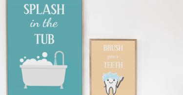 Kids Bathroom Printable
