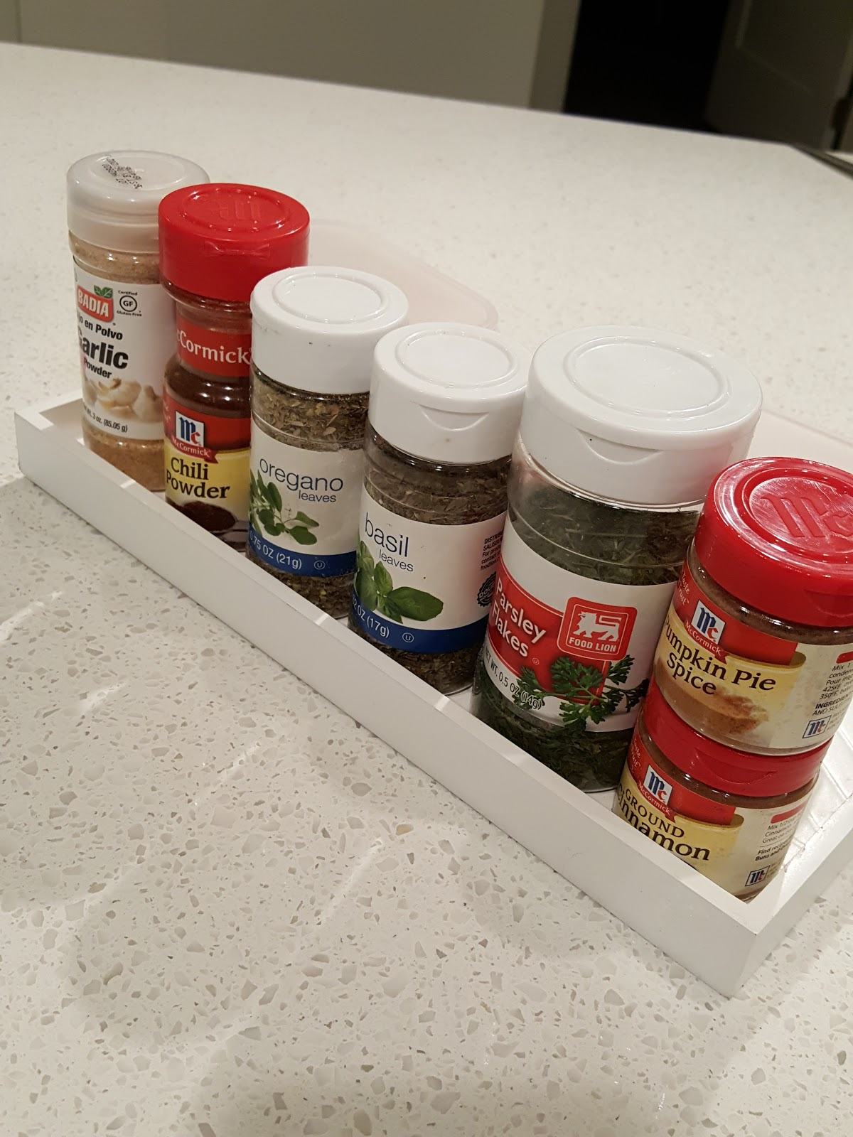 Organize Kitchen Countertops