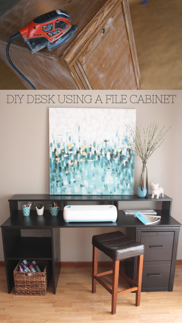 Super Diy Desk With File Cabinets Diy Campbellandkellarteam Download Free Architecture Designs Osuribritishbridgeorg