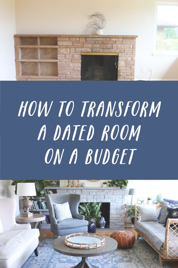 How To Transform A Dated Room On A Budget
