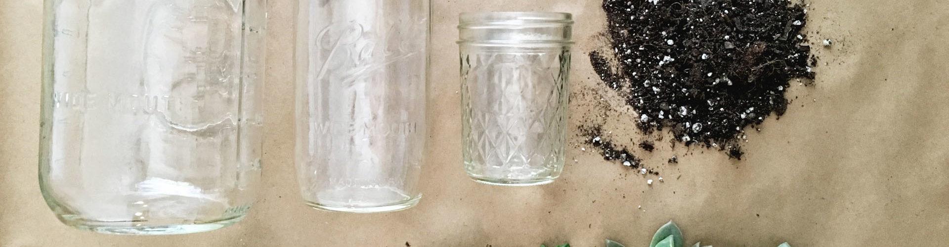 How to Make a Mason Jar Succulent Planter