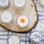 DIY Pumpkin Spice Fall Candle