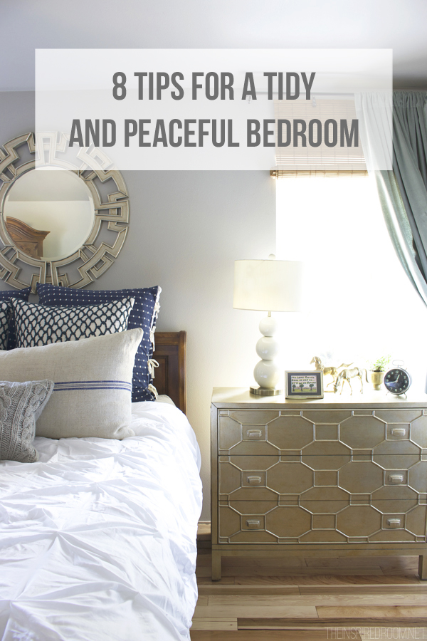8 tips for a tidy and peaceful bedroom - Peaceful and relaxing living room decorating ideas ...
