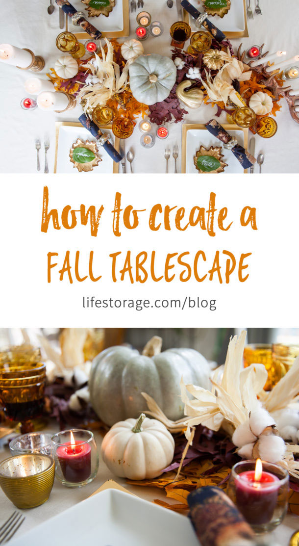 How to create a fall tablescape.