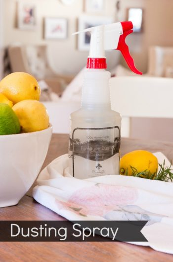 DIY Cleaning solution for dusting your home