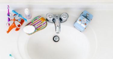 Organize a Child's Bathroom