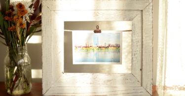 How to Make a Twine Picture Frame