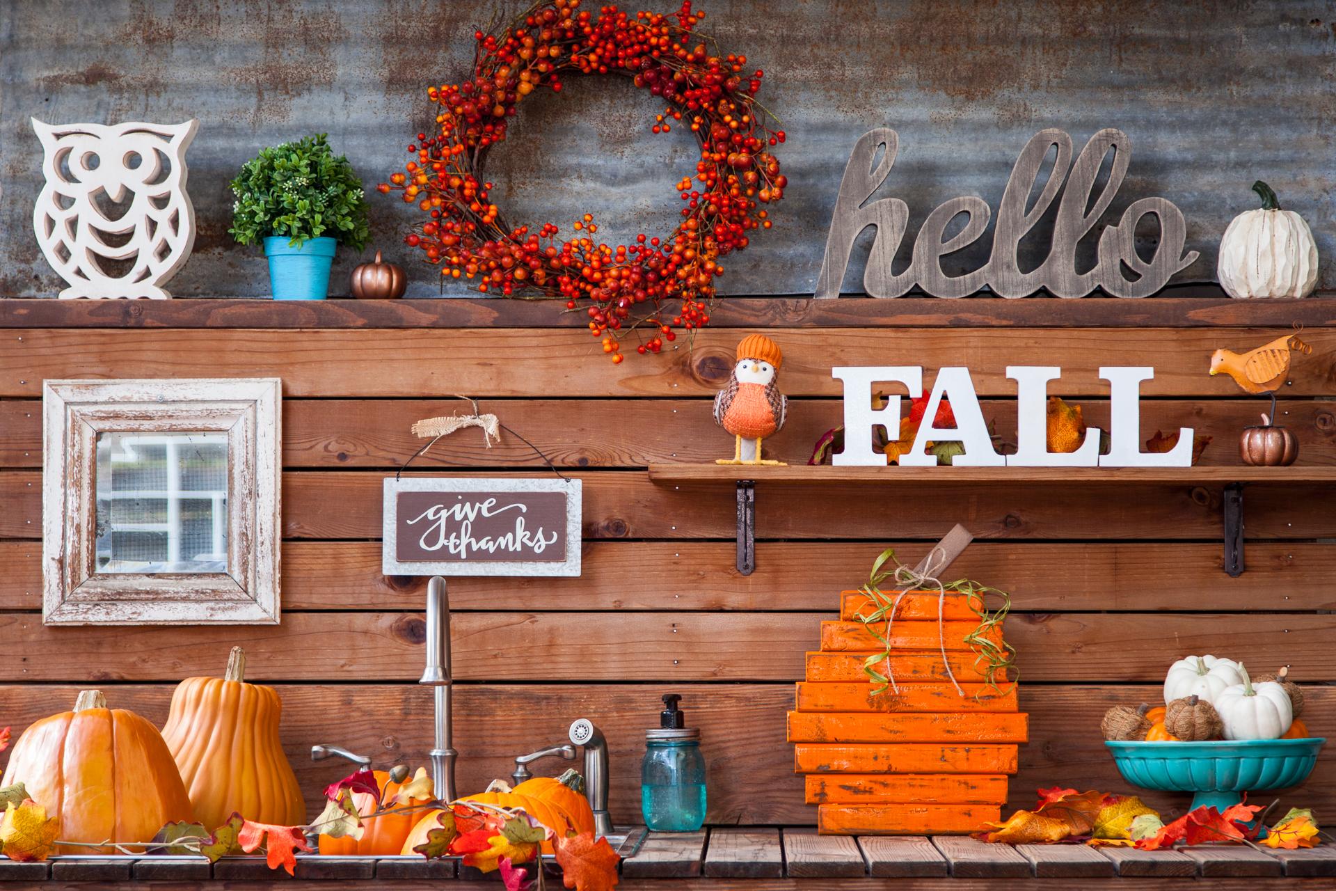 Simple diy scrap wood pumpkin for under 20 for Best diy decorating blogs
