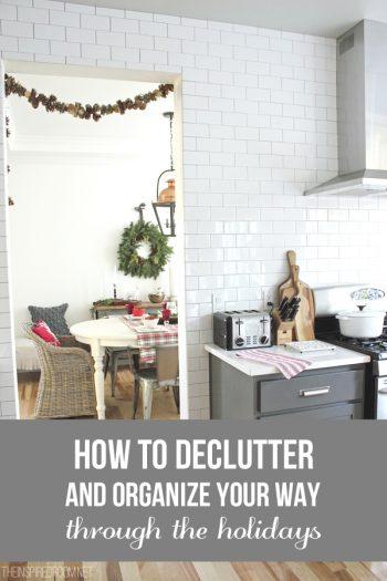 christmas decorations kitchen pinterest image decluttering