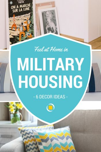 military housing decorating ideas pin