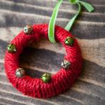 Mason Jar Lid Christmas Ornaments