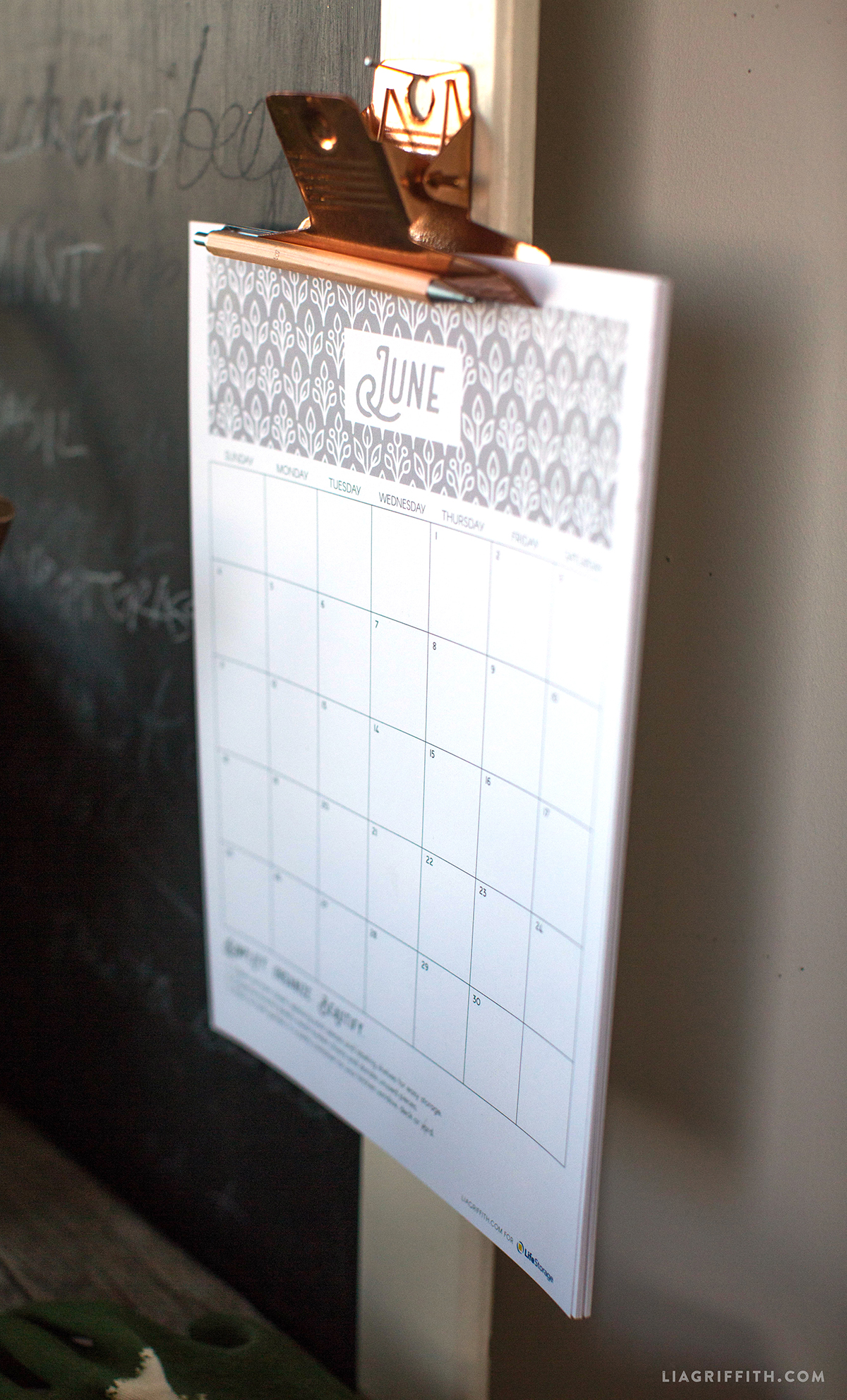 Organization Calendar Free : Get organized in the new year with a printable calendar