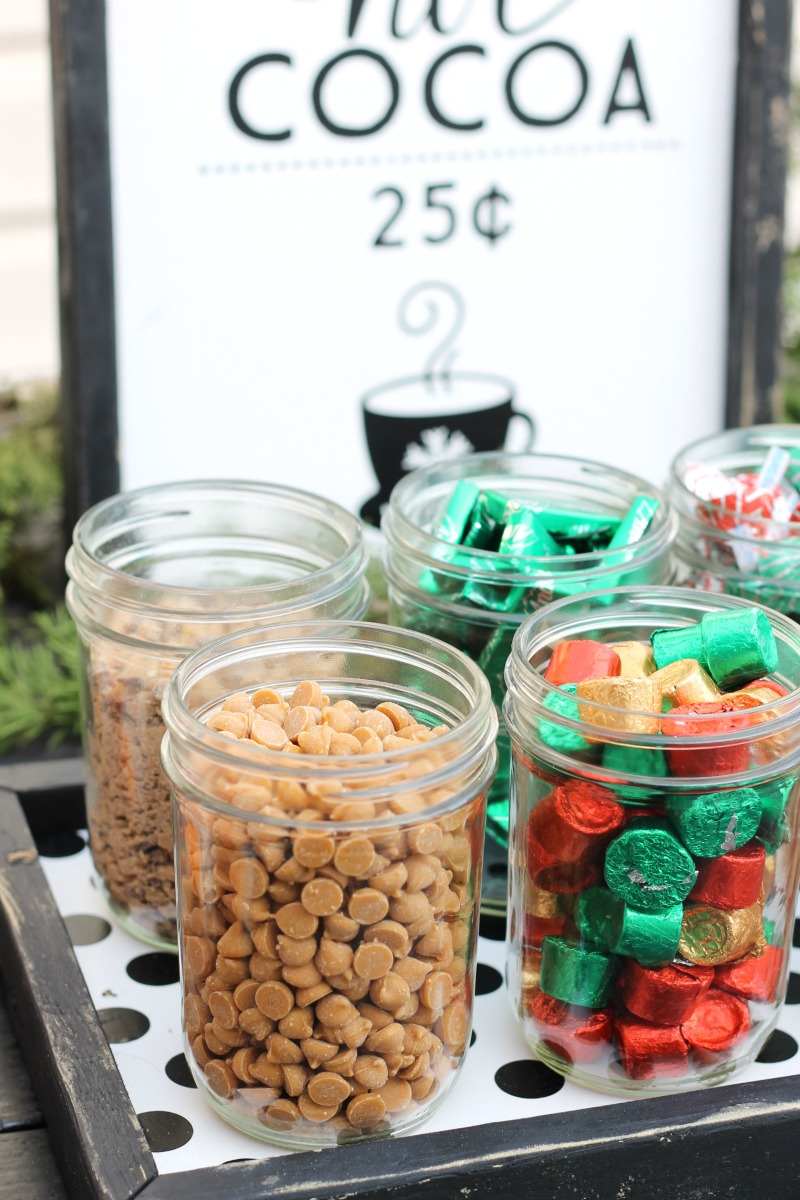 hot cocoa bar toppings