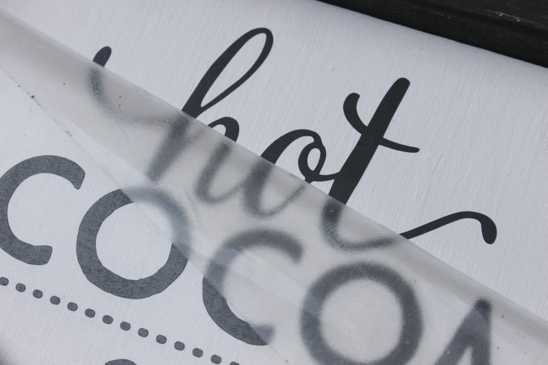 how to apply vinyl lettering