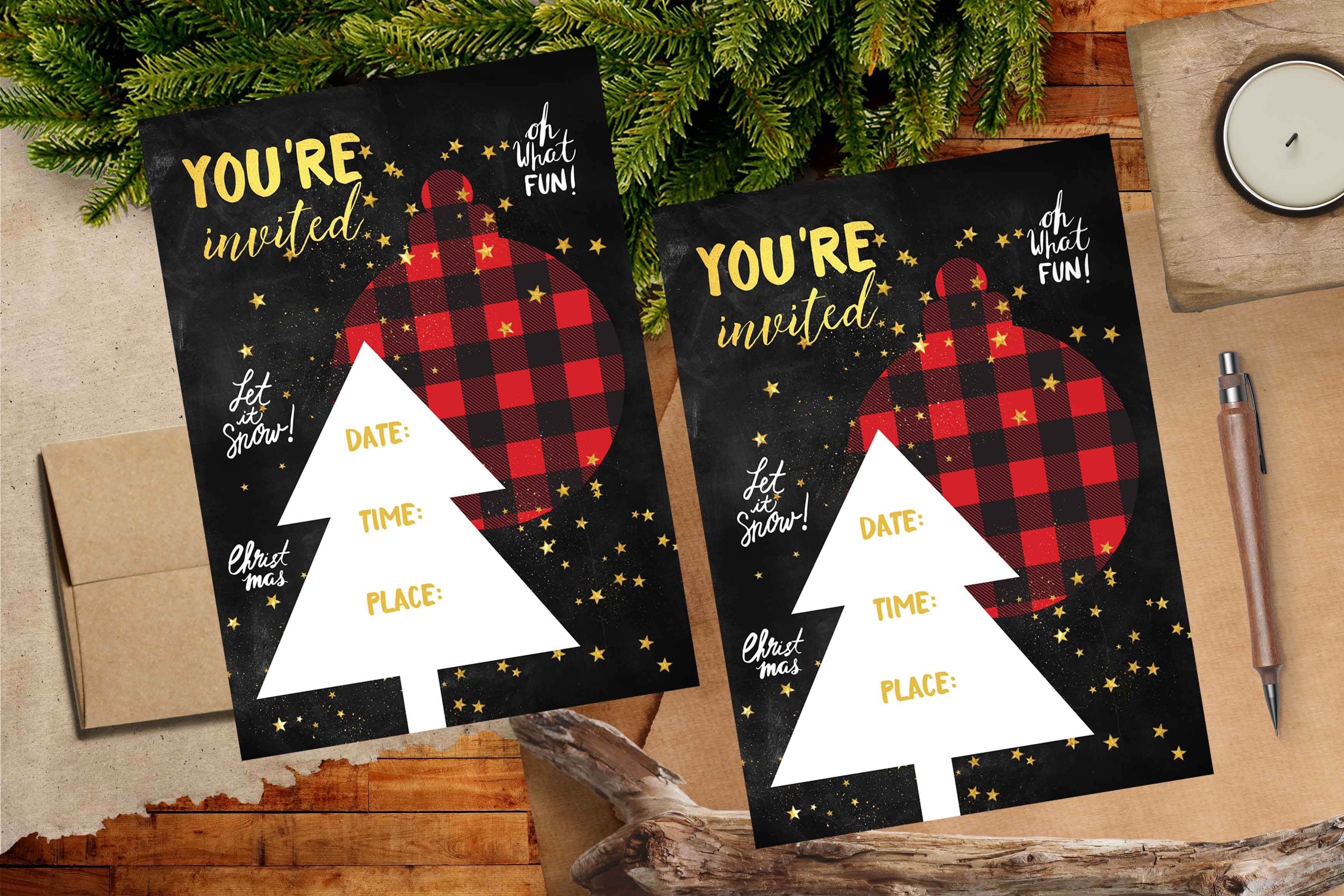 Christmas Holiday Printable Set