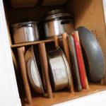 Kitchen pantry organization DIY