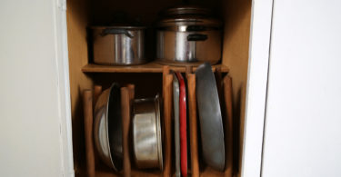 Kitchen pantry organization DIY