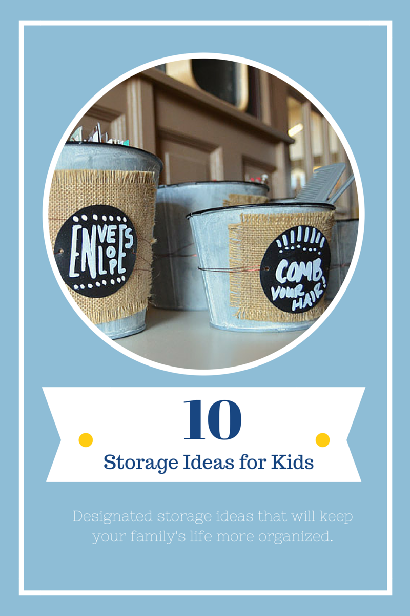 10 Clever Storage Ideas for Kids