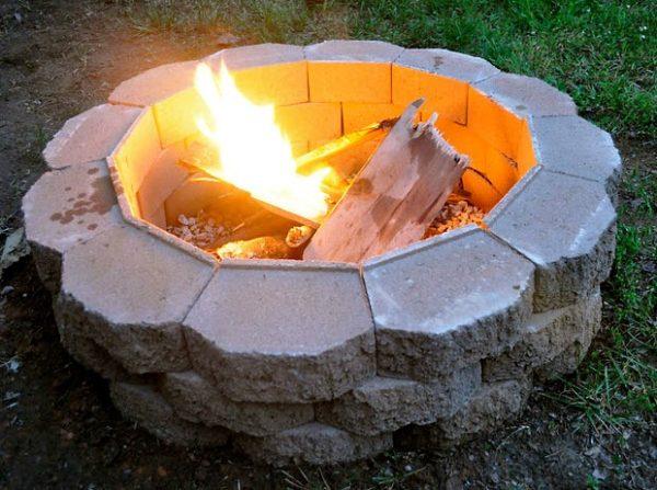 fire pit diy project