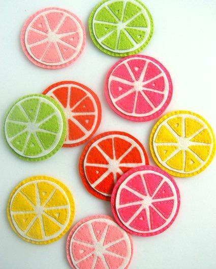 citrus coasters diy project