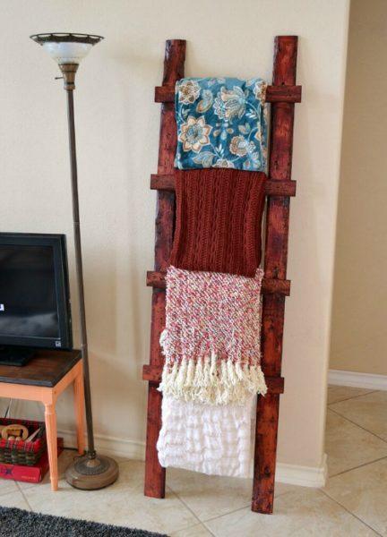throw ladder blanket
