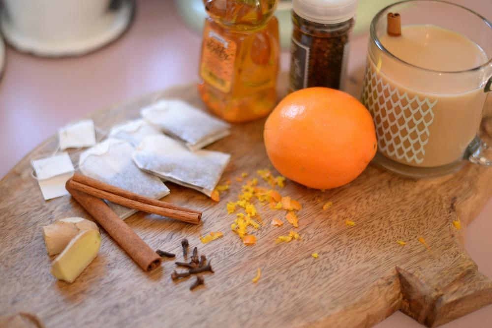 Homemade Orange Spice Chai Tea Recipe